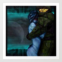Halo Love Art Print