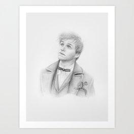 Newt and Pickett Art Print
