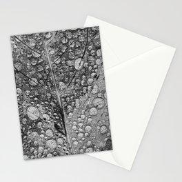 silvery leaf Stationery Cards