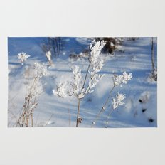 Winter sprig Rug
