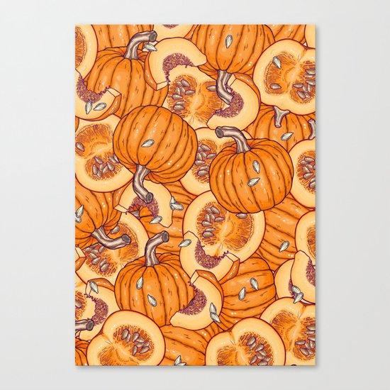 pumpkin dream Canvas Print