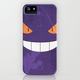 Minimalist Gengar iPhone Case