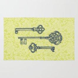 Three Skeleton Keys Rug