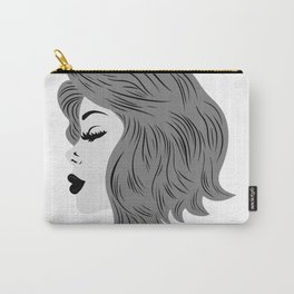 Female profile Carry-All Pouch