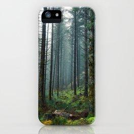 Creeping mist iPhone Case