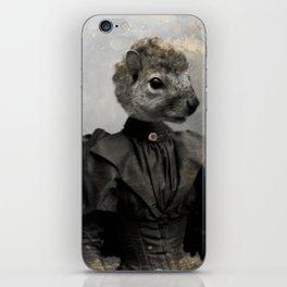 Miss Squirrel iPhone Skin