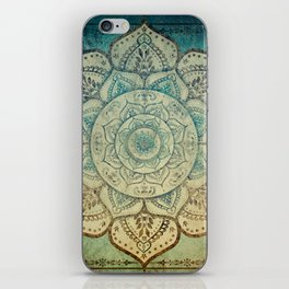 Faded Bohemian Mandala iPhone Skin