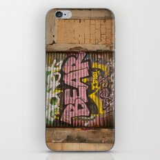 Who's Afraid of the Big Pink Bear iPhone Skin
