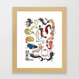 Rat Dragon Army: Batch 1 Framed Art Print