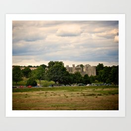 Bodiam Castle From Bodiam Station Art Print