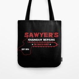 Sawyer's Chainsaw Repair Tote Bag