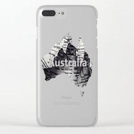 Darwin Clear iPhone Case