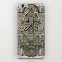 chakra iPhone & iPod Skins featuring Second Chakra by Work the Angle