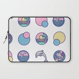 Dolphin Dots Laptop Sleeve