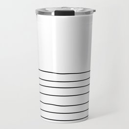 Representation of a calm mind Travel Mug