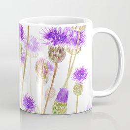purple thorny wildflower Coffee Mug