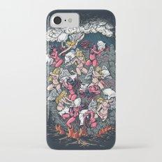 good vs evil  iPhone 7 Slim Case