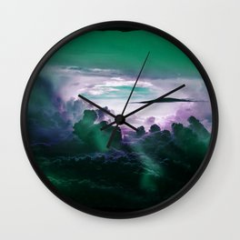 I Want To Believe - Aqua Wall Clock