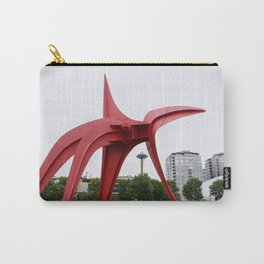 RED needle Carry-All Pouch