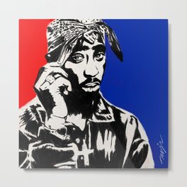 AMERIKAZ MOST WANTED Metal Print