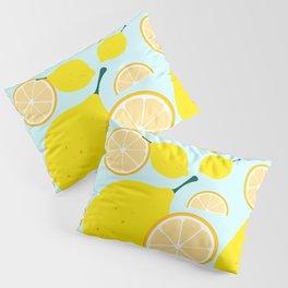 Yellow Lemon Pillow Sham