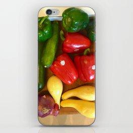 Rainbow in the Kitchen iPhone Skin