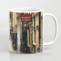 amsterdam Mugs featuring Amsterdam by Pati Designs & Photography