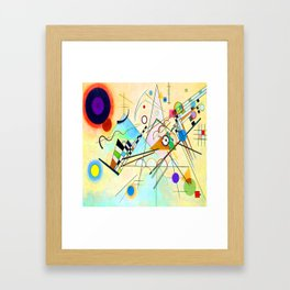 Kandinsky Composition VIII Framed Art Print