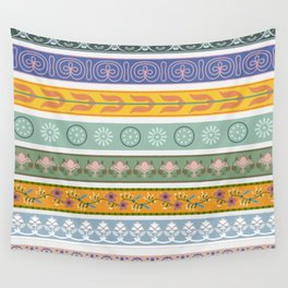 Vintage Ornament Pattern Wall Tapestry