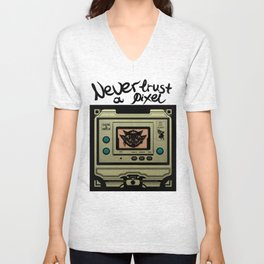 Beezelbubba Game and Watch  Unisex V-Neck