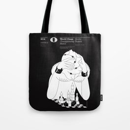 World Chess Championship Match Tote Bag