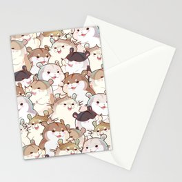 Hamster Paradise Stationery Cards