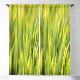 Green Nature Abstract Blackout Curtain