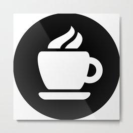 Coffee Ideology Metal Print