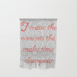 Disappearing Time Wall Hanging