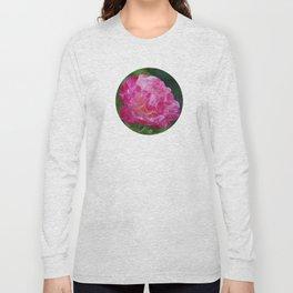 Pink Rose in Full Bloom Long Sleeve T-shirt