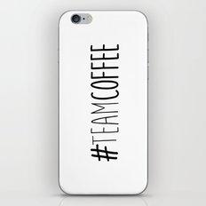 #TeamCoffee iPhone & iPod Skin