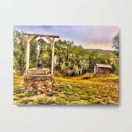 A Day in Lincoln County Metal Print