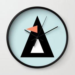 Frank the Penguin Wall Clock