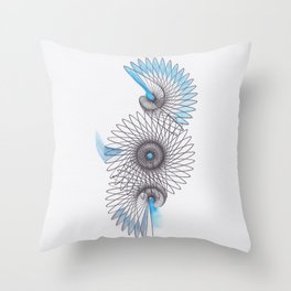 Spiral 2 Throw Pillow