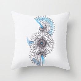 Spiral 2 Throw Pillow