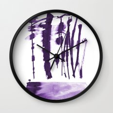 Decorative strokes Wall Clock
