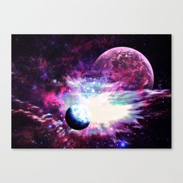 Celestial Existence Canvas Print
