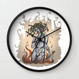 Gorgon Euryale Wall Clock