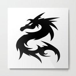 Dragon Art   HD Design Metal Print