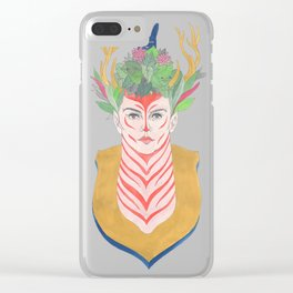 Woman Envy Clear iPhone Case