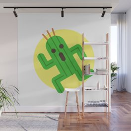 Final Fantasy - Cactuar Wall Mural