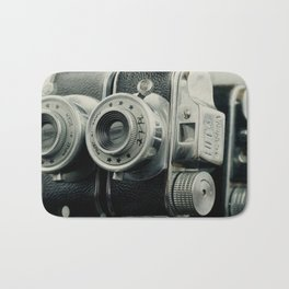 Hit Vintage camera Bath Mat