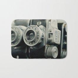 Hit Vintage camera Bath Mat
