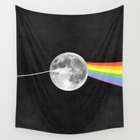 floyd Wall Tapestries featuring Dark Side of the Moon. by Nick Nelson